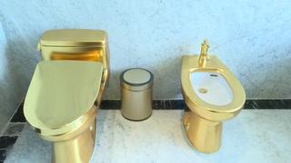 Un hotel donde todo lo que reluce... es oro