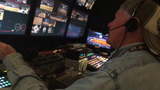 Rick Davidson directs NFR satellite feed