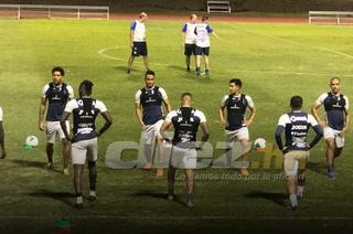 La Selección de Honduras realizó su primer entrenamiento en Jamaica