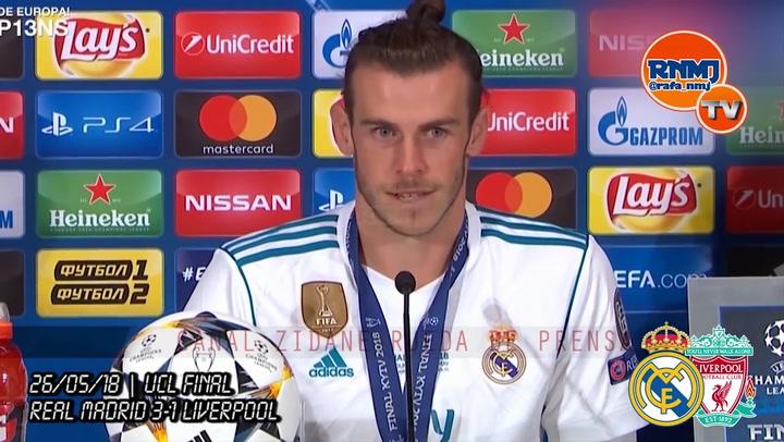 Bale, tras ganar la Champions: