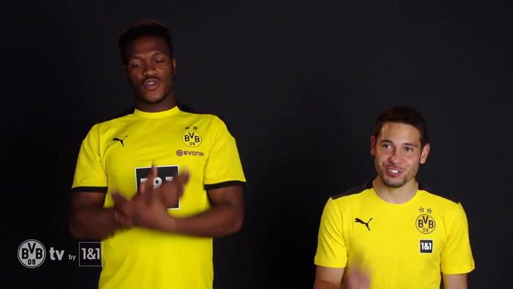 Divertido recibimiento del Dortmund a su nuevo fichaje, Jude Bellingham