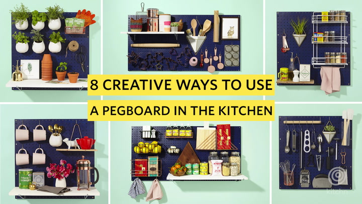 Kitchen Pegboard 8 Ways To Use A Pegboard To Make Your Kitchen Better Kitchn