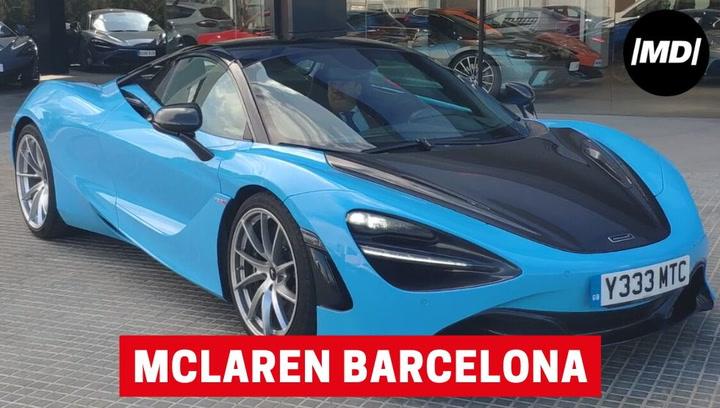 Visitamos la nueva sede de McLaren Barcelona y nos subimos a bordo del McLaren 720S Spider