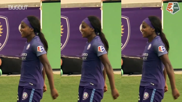 NWSL Player Celebrations