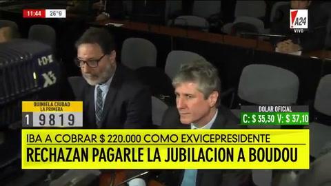 La Anses rechazó el pago de una jubilación de 220 mil pesos a Boudou