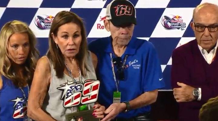 MotoGP retira el 69 de Nicky Hayden