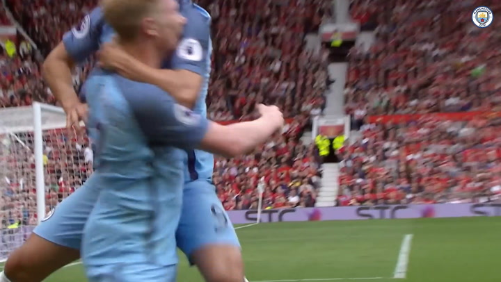 Manchester City's best goals at Old Trafford
