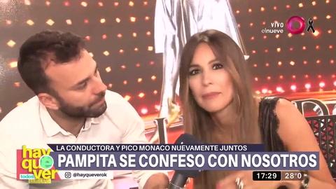 Pampita contó detalles de su reencuentro con Pico Mónaco