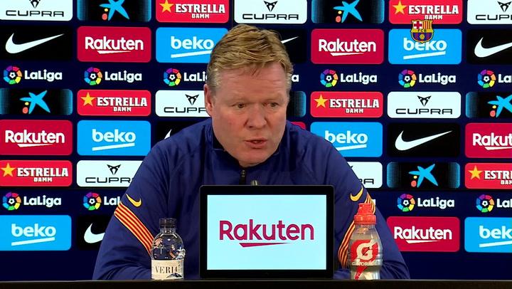 Koeman habla del futuro de Leo Messi