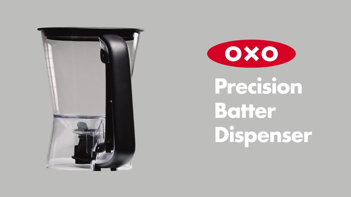 Preview image of OXO Good Grips Precision Batter Dispenser video