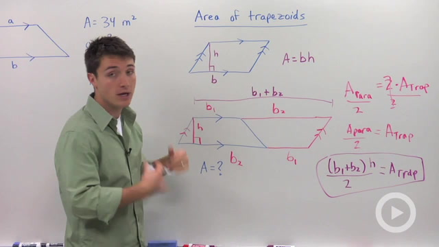Area of Trapezoids - Problem 1