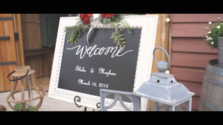 Meghan + Blake | Willis, Texas | Rustic Rose Events