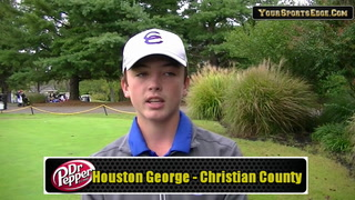 George Tops Colonel Golfers at Region
