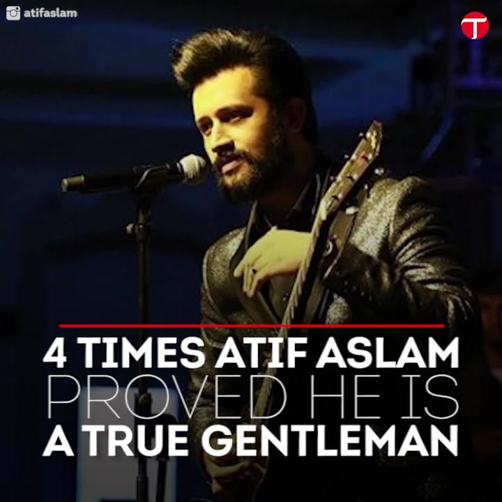 Happy birthday Atif Aslam! 6 times the singer proved he is a true gentleman
