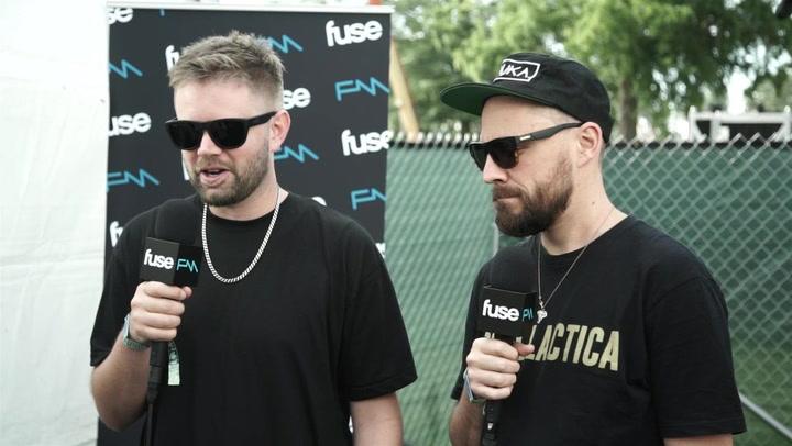 Australian EDM Duo Hermitude Explain Live Show, Love For America