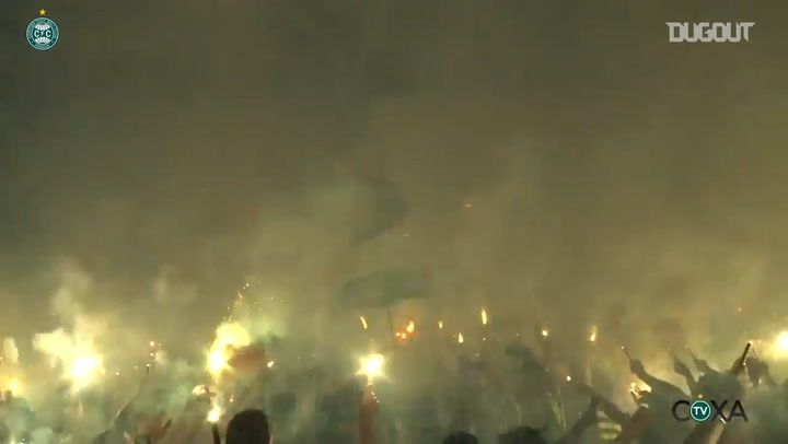 """""""Green Hell"""": the passion of Coritiba fans"""