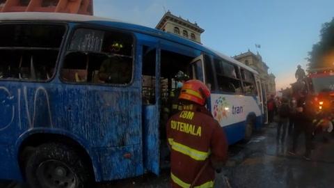 Desmanes en Guatemala en protesta que exigía renuncia de presidente