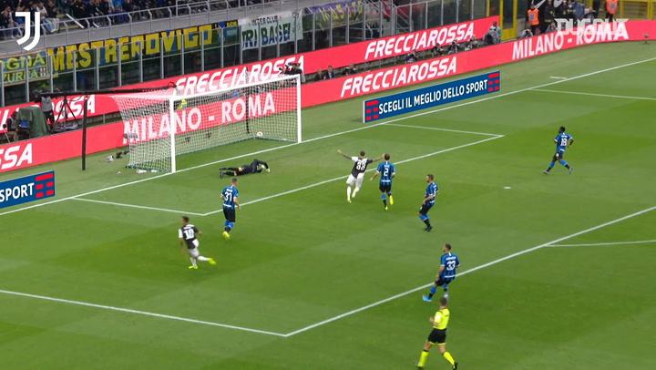 Juventus' last goals scored at San Siro against Inter