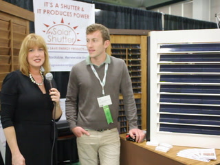 NAHB: Unique solar-panel shutters keep light out, energy in
