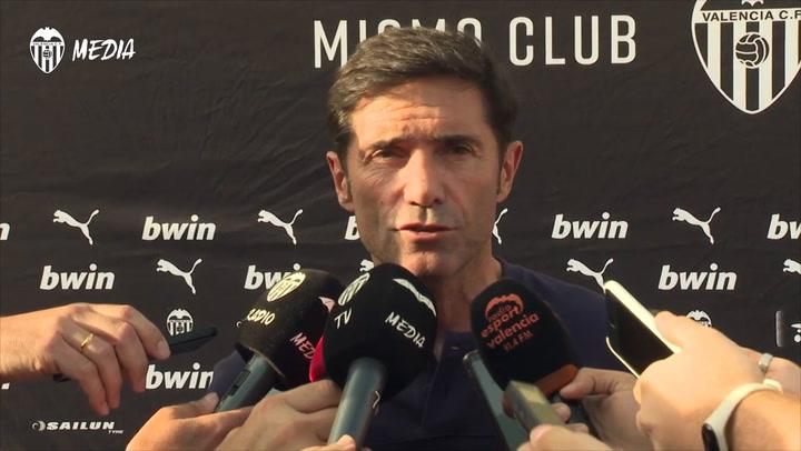 Marcelino cree que Rodrigo seguirá en el Valencia