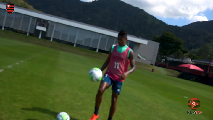 Flamengo continue to train ahead of the Brazilian Championship start