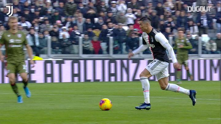 Cristiano Ronaldo hunde al Cagliari en el primer partido de 2020