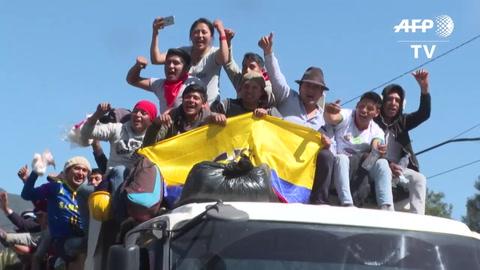 Ecuador recupera la calma tras protestas por eliminación de subsidios