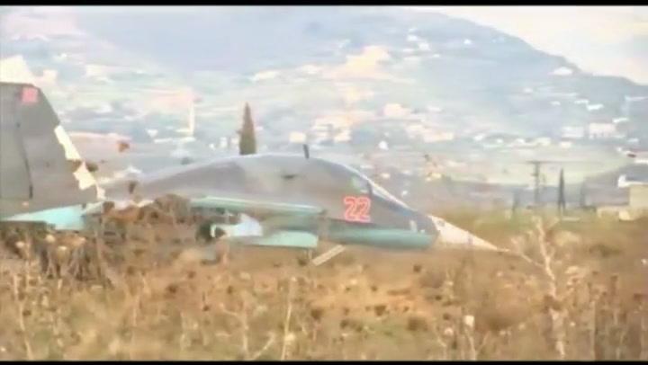 Video: NAVO waarschuwt Rusland