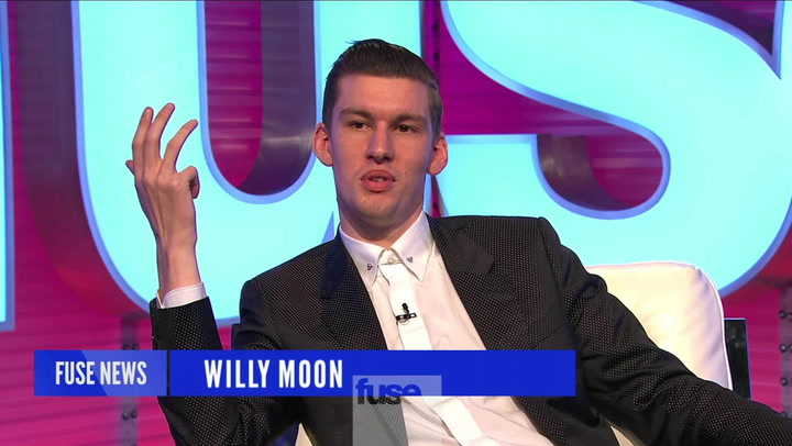 Willy Moon Enjoys The Fruits Of His Labor