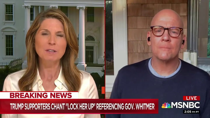 Heilemann on Whitmer Kidnap Plot: Trump 'Engaged in Incitement to Domestic Terrorism'