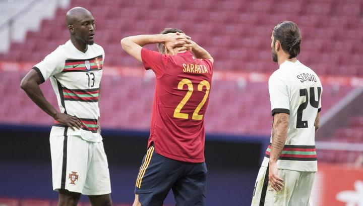 RESUMEN España 0 - 0 Portugal