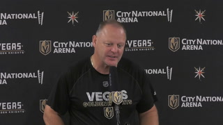 Gallant Talks After Practice On Thursday