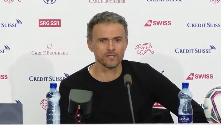 """Luis Enrique: """"Si hubiese habido más penaltis, los habría tirado Ramos"""""""