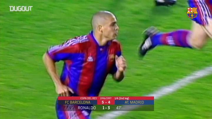 Ronaldo's hat-trick against Atletico Madrid