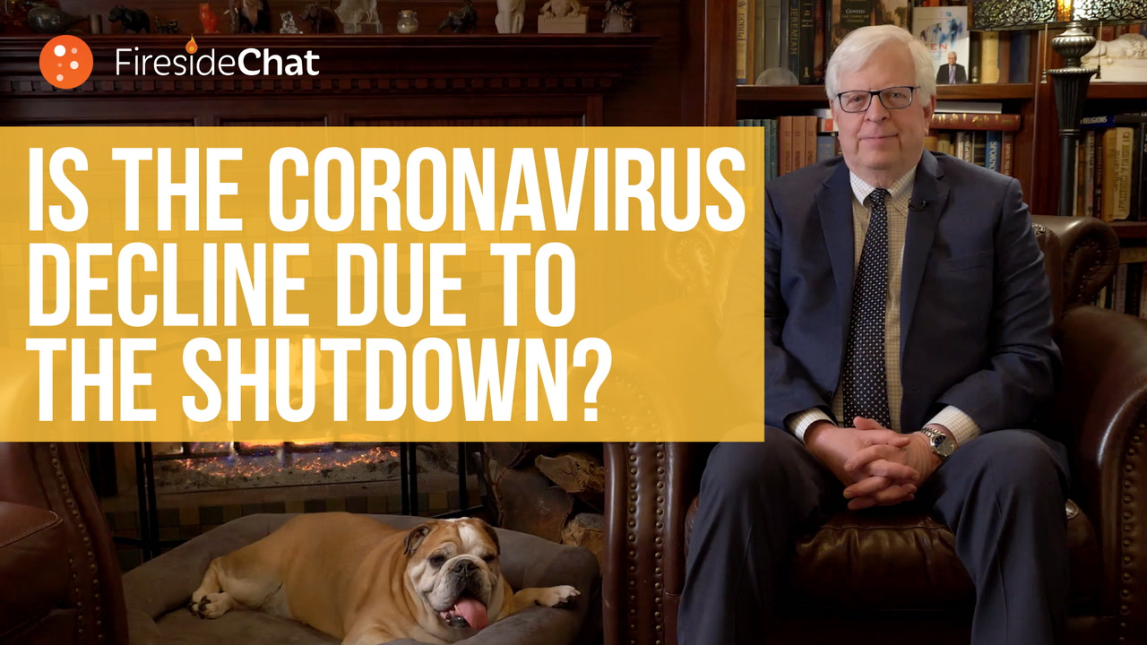 Is the Coronavirus Decline Due to the Lockdown?