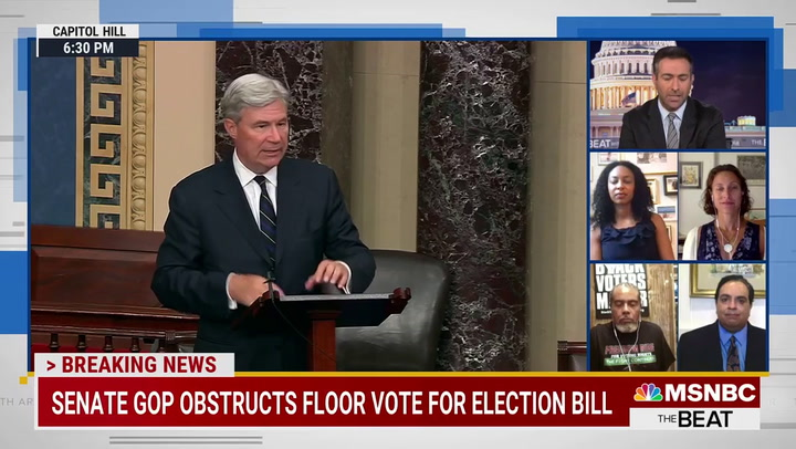 MSNBC Guest Thompson: Filibuster Allowing Republicans to Enact American Form of 'Apartheid'