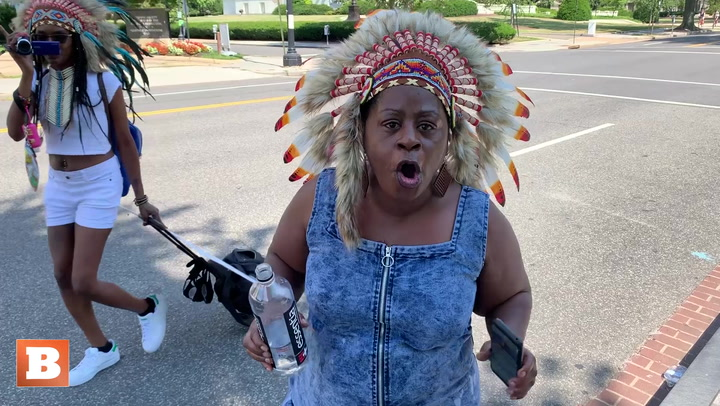 'Copper-Colored Indians': 'BLM Has Nothing to Do with Original Black American Indians'