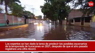 ¿Cuál es el pronóstico de la temporada de huracanes en 2021?