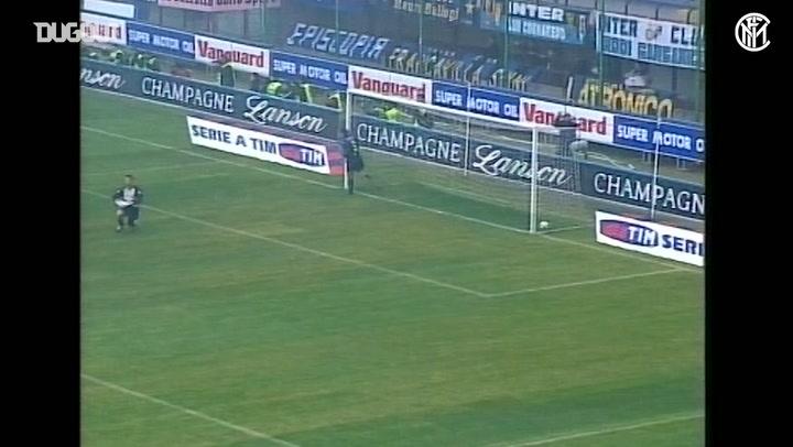 Christian Vieri'nin Brescia'ya Dört Gol Attığı Maç