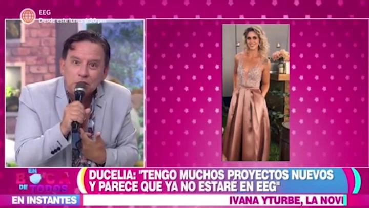 """Dulcelia Echevarría sobre la nueva temporada de """"Esto es Guerra"""": """"No me han llamado"""""""