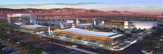 Las Vegas retail project The Bend