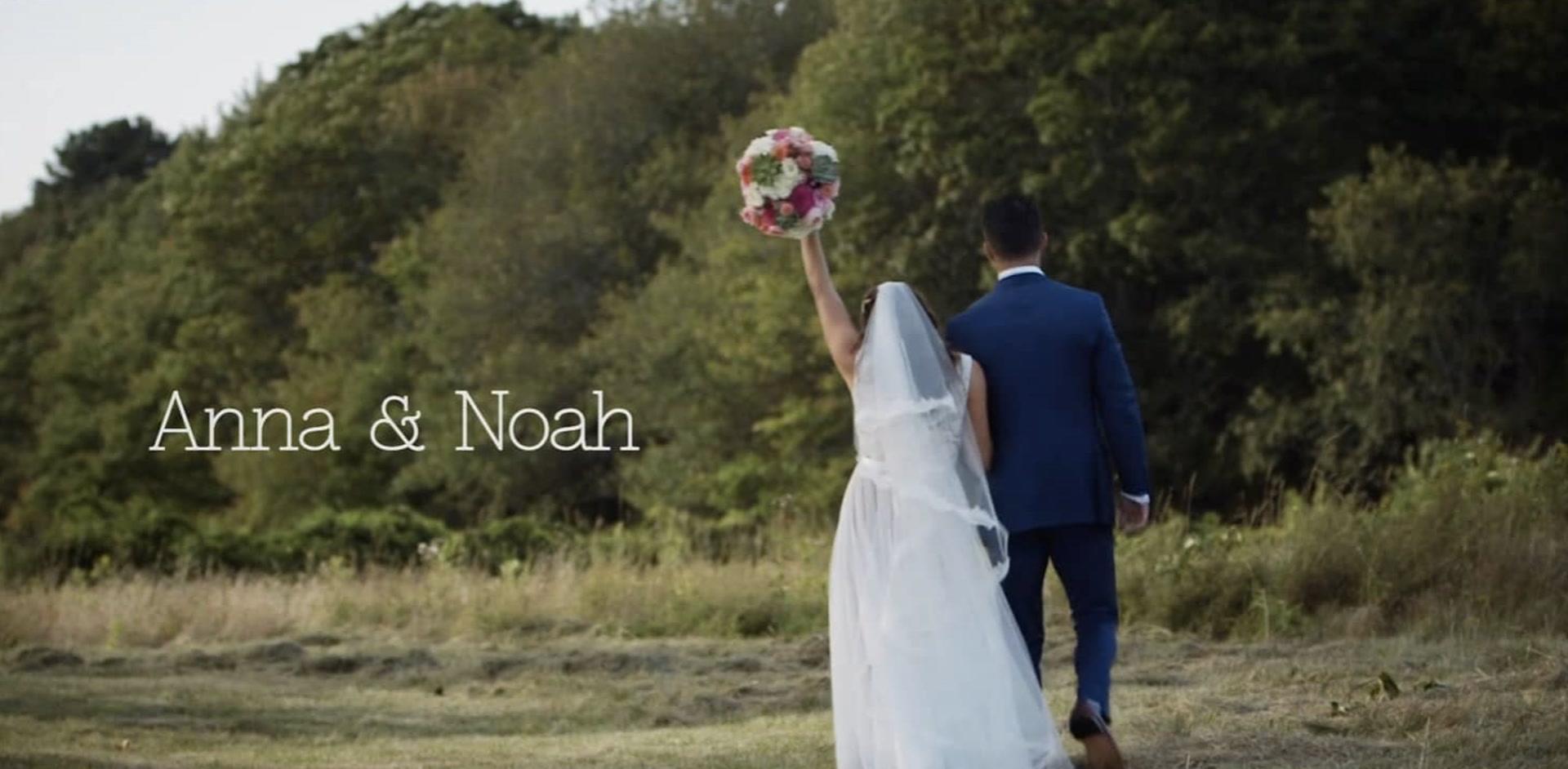 Anna + Noah | Wells, Maine | laudholm farm