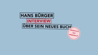 Thumbnail von Hans Bürger im Interview mit morawa.tv