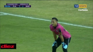 Carlo Costly de penal acorta distancias, pero Marathón sigue cayendo por goleada ante Platense