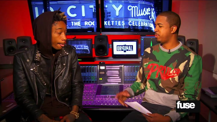 "Wiz Khalifa on Being a New Dad ""My Son Doesn't Pee on Me, He Pees on His Mom"" - Interviews"
