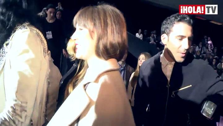 Blanca Suárez y Miguel Ángel Silvestre, la pareja sorpresa de la pasarela de Madrid