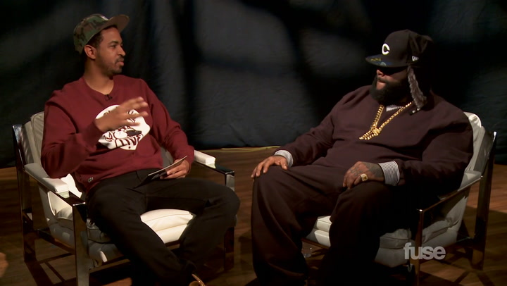 Interviews: Could Rick Ross be a Pro-NFL Player?