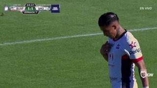 Michael Chirinos anota su segundo gol con Lobos Buap en México