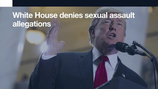 Your morning 90-second news update: White House denies sexual assault allegations.