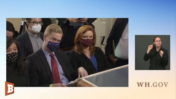 White House Defends Joe Biden Maskless
